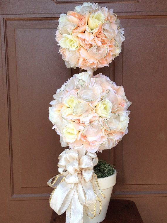 Wedding Topiary, Wedding Decoration , Home Decoration , Home Topiary, Handmade Topiary, Wedding Centerpiece, Wedding Table Centerpiece,