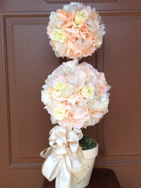 Wedding Topiary, Wedding Decoration , Home Decoration , Home Topiary, Handmade Topiary, Wedding Centerpiece, Wedding Table Centerpiece,