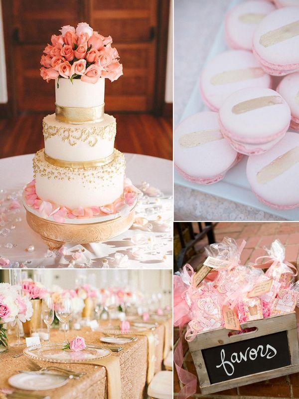 Hochzeitsdeko gold rose google suche torte pinterest for Hochzeitsdeko gold