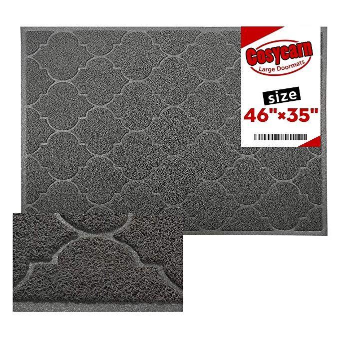 Cosyearn Large Door Mats 46x35 Inches Xl Jumbo Size Outdoor Indoor