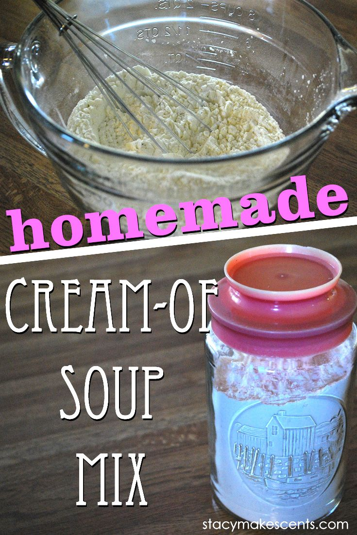 Cream of Mushroom/Celery/Chicken Base -- much healthier version of canned. It's gluten-free AND can also be made dairy free.