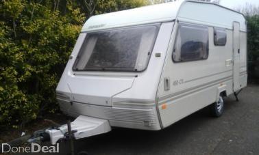very clean caravan