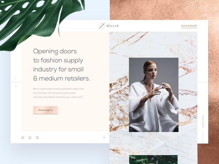 Oculas - the homepage