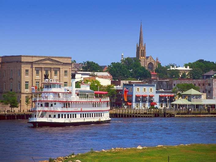 Beautiful Downtown Wilmington, NC