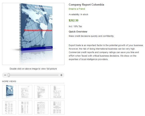 Company Check South Americas - How can I check Colombian company? How to check the legitimacy of your Chinese buyers or partners? Are they a real company? Are there financial information and rating data available? How can I get official data about the company?    However, the risk of doing international business can be very high. Commercial credit reports and company ratings can save you time and effort when faced with critical business decisions.