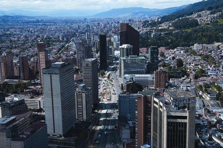 Bogotá desde el mirador de la torre Colpatria. Foto: Germán Montes