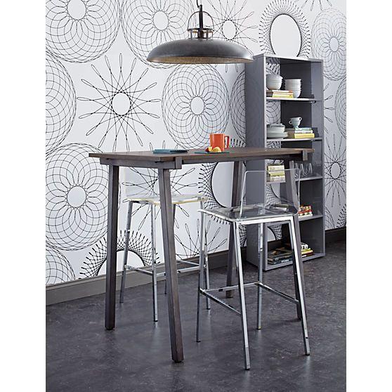 Vapor 24 Quot Acrylic Counter Stool 30 Bar Stools Acrylics