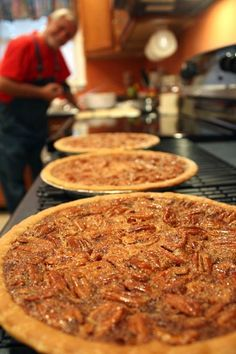 Pinner : The BEST pecan pie ever! I make these for my family every year now. For Christmas I send them home with their own pie.