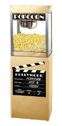 HTD Canada 6 oz Premiere Commercial Popcorn Machine With Pedestal