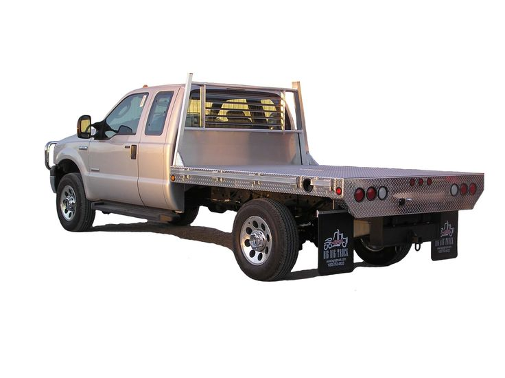 flatbeds for trucks | Alumminum flatbed on Ford F-250