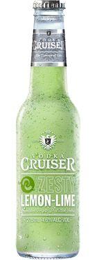 Vodka Cruiser Zesty Lemon-Lime 275mL