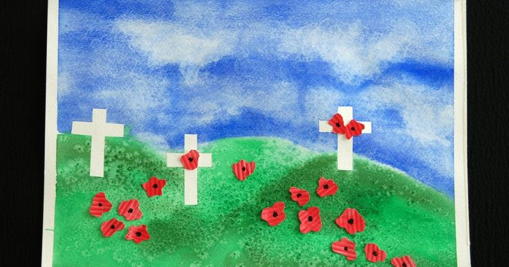 "In Canada we honor Remembrance Day on Nov. 11th. The poppy is the national symbol we use in recognition of the poem ""In Flander's Fi..."