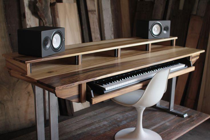 Full Size 88key Studio Desk for Audio / Video / Music / Film / Production