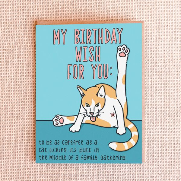 Happy Birthday Cat We Heart It: 22 Best Funny Birthday Cards Images On Pinterest