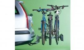Wolder Remolque portabicis · Con plataforma 2 y 3 bicis  Permite llevar 2 y 3 bicicletas en una plataforma que posa sobre el enganche del coche. La versión para 3 bicis es basculante.