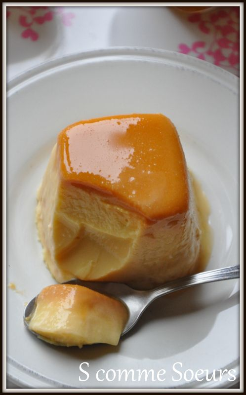 flans au caramel au beurre salé à la multidélices