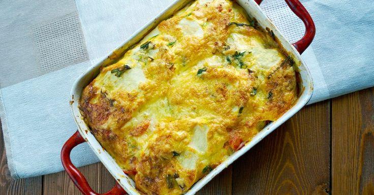 Easy No Noodle Lasagna, aka Ricotta Bake