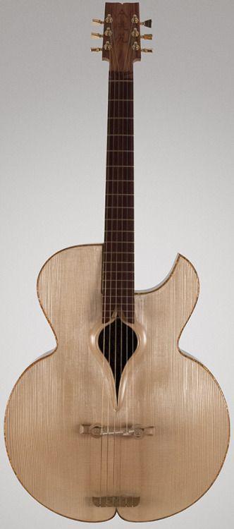 William Marinello Momojiri Guitars -Marta Lardys Chordophone of the day 2017 --- https://www.pinterest.com/lardyfatboy/