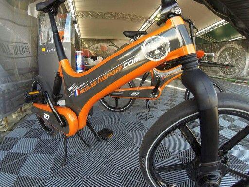 Gewrapt is deze #gocycle.  #florismoo