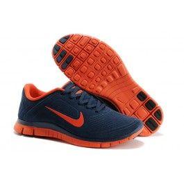 Købe Nike Free 4.0 EXT Mørkblå Orange Herre Skobutik | Køligt Nike Free 4.0 EXT Skobutik | Nike Free Skobutik Til Salg | denmarksko.com