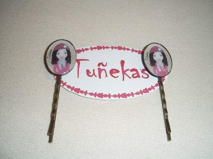 Horquillas Ovaladas Tuñeka Rizos de Tuñekas por DaWanda.com