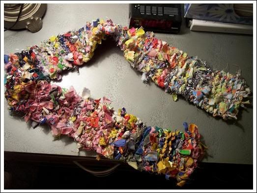 Use Fabric Scraps To Make A Raggedy Scrap Scarf Craft