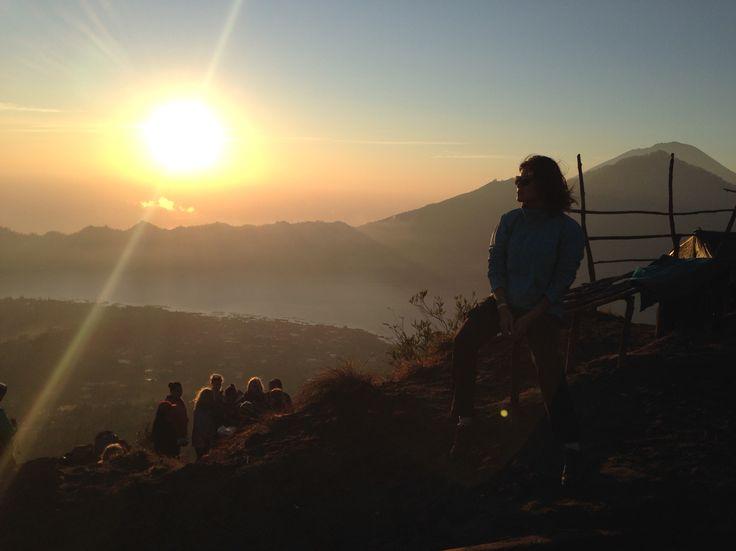 Sunrise at Mt Batur, Bali
