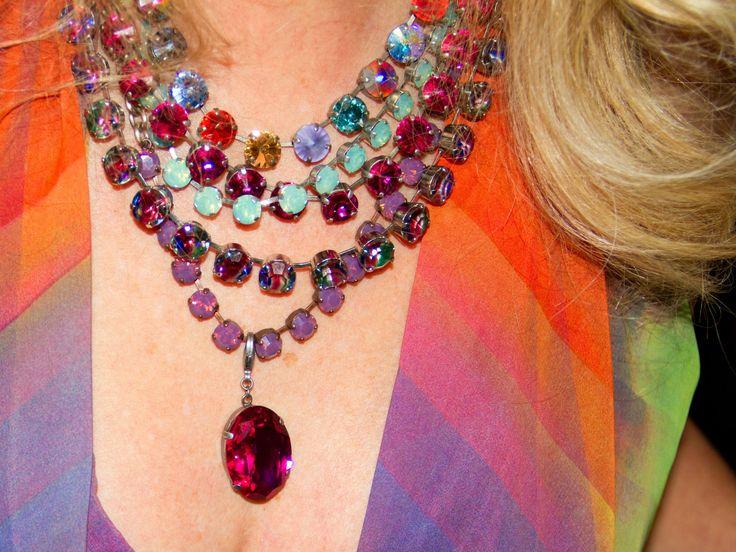 #sabikalove Vintage Sabika Jewelry combo worn at The Sabika Ball 2013.