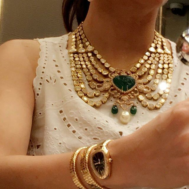 Loving it @Regrann from @farahkhanali - A closer view #farahkhanfinejewellery…