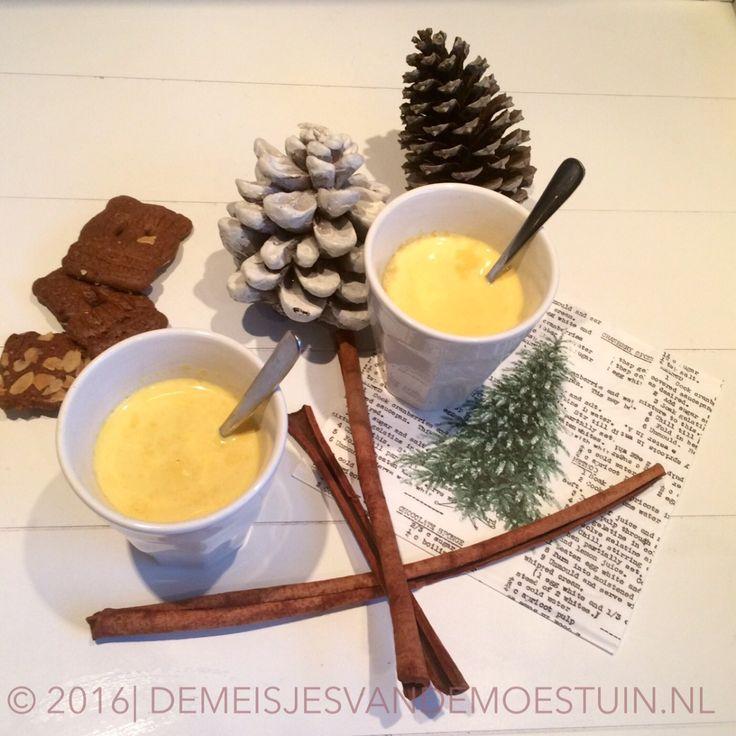 golden milk met kurkuma en kardemom