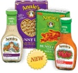 Annie's is the best (taste-wise too!). Organic products that are made without additives, pesticides or artificial flavors.