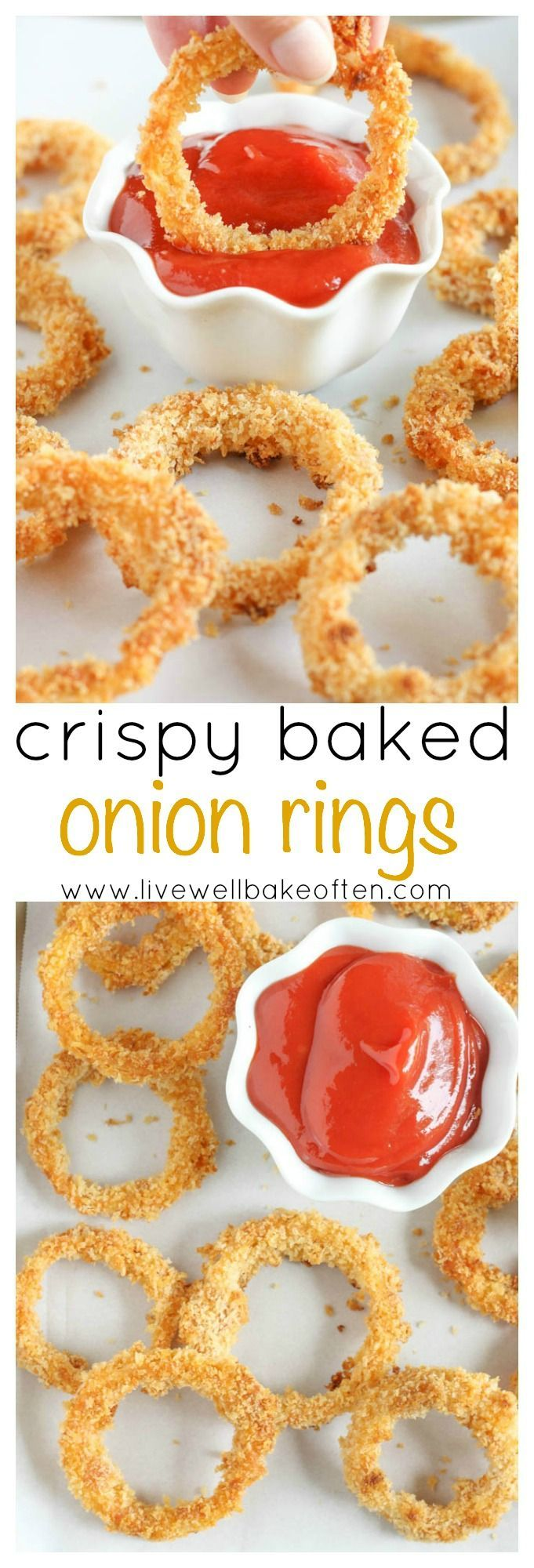 onion rings crispy onion rings buttermilk onion rings baked barbecue ...
