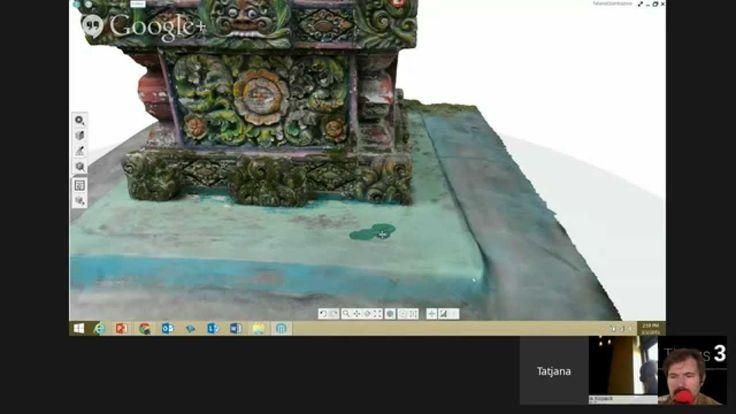 Live demo with Tatjana on using Autodesk's new 3D tool, Memento