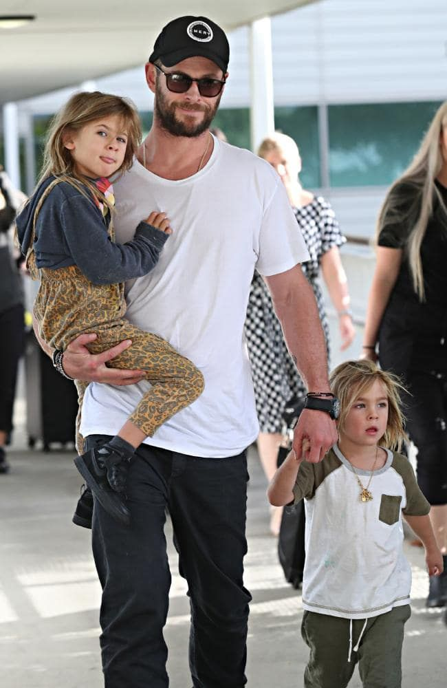 Chris Hemsworth Children Chris Hemsworth Kids Chris Hemsworth Chris Hemsworth Family