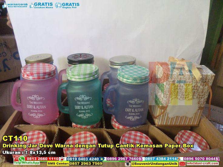 Drinking Jar Dove Warna Dengan Tutup Cantik Kemasan Paper Box WA/SMS/Telp 089630123779, 085729637569 Pin BBM 5E9C1BC6 #DrinkingJar #PabrikJar #HargaSouvenir #desainundanganPernikahan