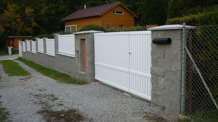 Plastový plot Whiteplast