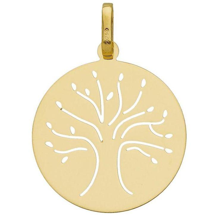 Medaille Arbre de vie PremierBijou Médaille Arbre de vie (or jaune 18ct) €119