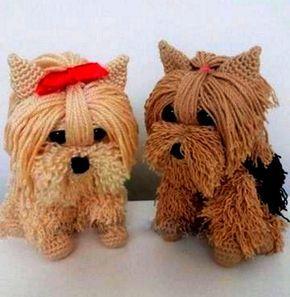 Perro Yorkshire terrier a crochet – Tutorial paso a paso