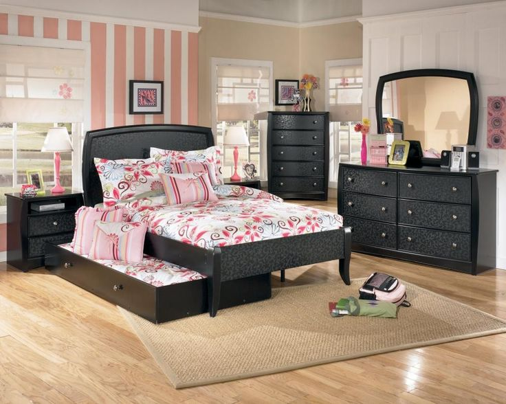 Bedroom Furniture Sets For Teenage Girls kids black bedroom furniture - creditrestore