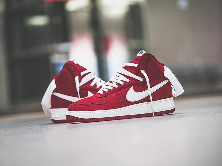 Damskie Buty Nike Air Force 1 High Retro Gym Czerwony Wyprzedaz Tanie Nike Air Force Nike Air Nike