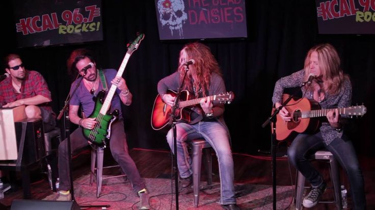 """""""Song And A Prayer"""" The Dead Daisies live acoustic at the KCAL Secret St..."""