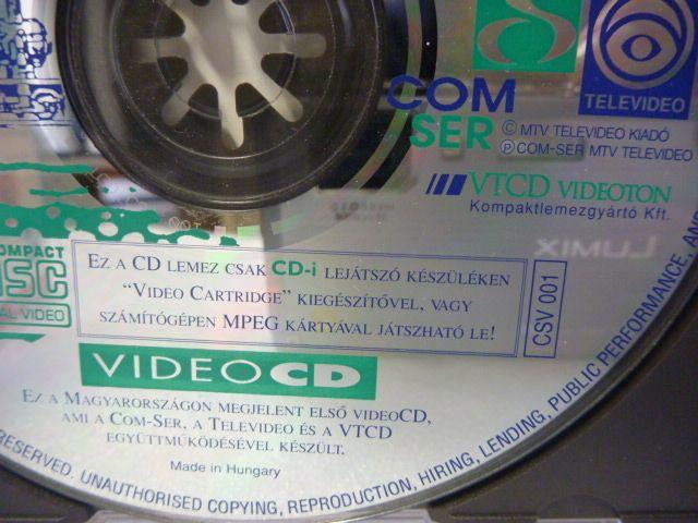 VideoCD-SVCD - Elektronika,tech,retro-hírportál