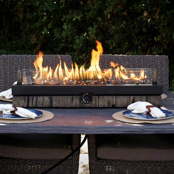 Northwoods Decorative Table Top Firepit Costco 160 00 Patio