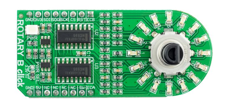 A tutorial on using the Rotary clickboards from MikroElektronika withn Arduino boards