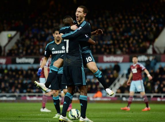 West Ham 0-1 Chelsea: Eden Hazard 10th goal of the season is enough to beat the Hammers - http://www.squawka.com/news/west-ham-0-1-chelsea-eden-hazard-10th-goal-of-the-season-is-enough-to-beat-the-hammers/320275#SPKbhoJeE21egVoC.99 #CFC #Chelsea #WestHam #WHUFC #Hazard