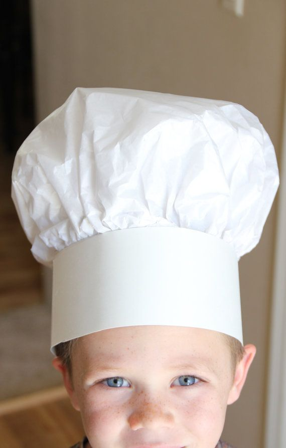 Best 25 paper chef hats ideas on pinterest for Paper chef hat craft