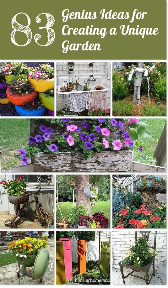 Genius Recycling Ideas For Your Garden Idea Box By 360 Sod (Donna Dixson)