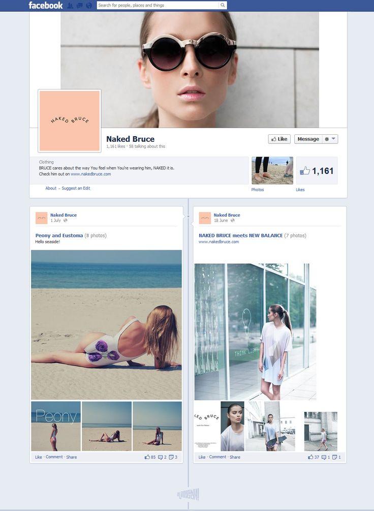 facebook.com/pages/Naked-Bruce #FacebookDesign
