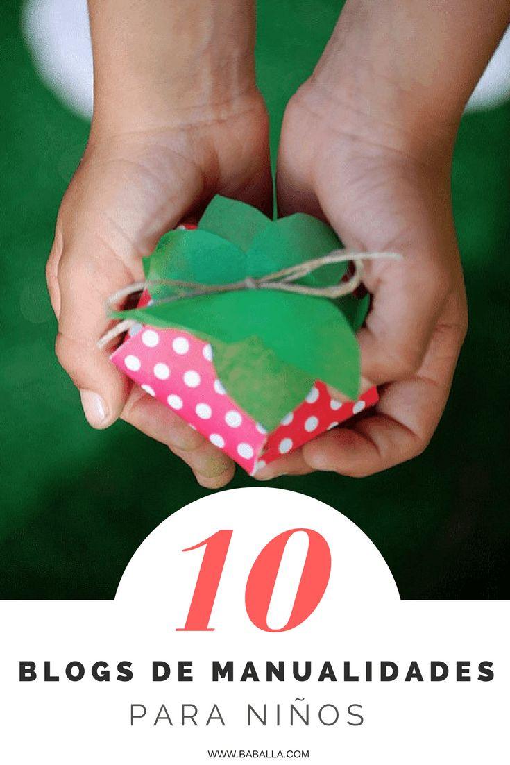 Lista de blogs de manualidades fáciles y manualidades infantiles #manualidades #craftwithkids