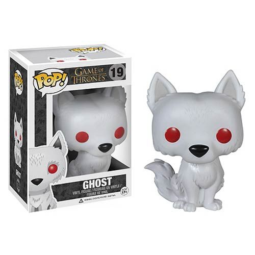 Game of Thrones Ghost Pop! Vinyl Figure - Funko - Game of Thrones - Pop! Vinyl Figures at Entertainment Earth